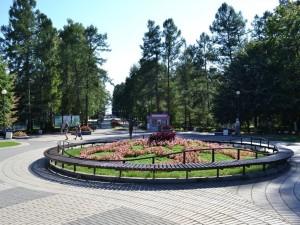 Главный вход, Зеленогорский парк культуры и отдыха