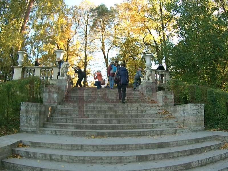 Большая каменная лестница, Павловский парк, Павловск