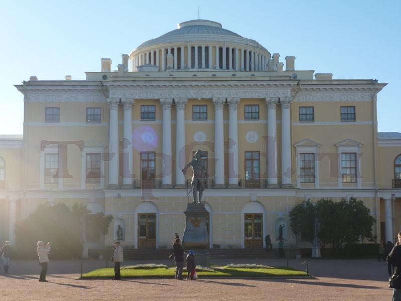 Большой дворец, Павловский парк, Павловск