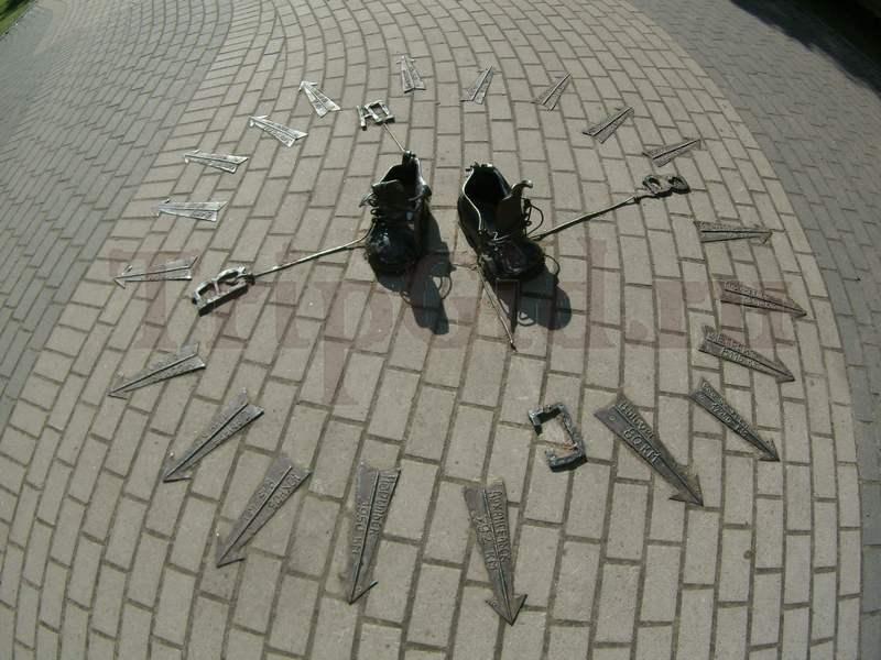Ботинки дачника, Зеленогорский парк культуры и отдыха