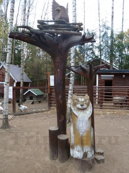 Декор мини-фермы, Зубровник в Токсово