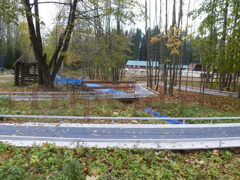Детская трасса для езды, Зубровник в Токсово