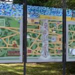 Схема парка, Зеленогорский парк культуры и отдыха