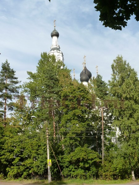 Храм Казанской иконы Божьей Матери, Зеленогорский парк культуры и отдыха