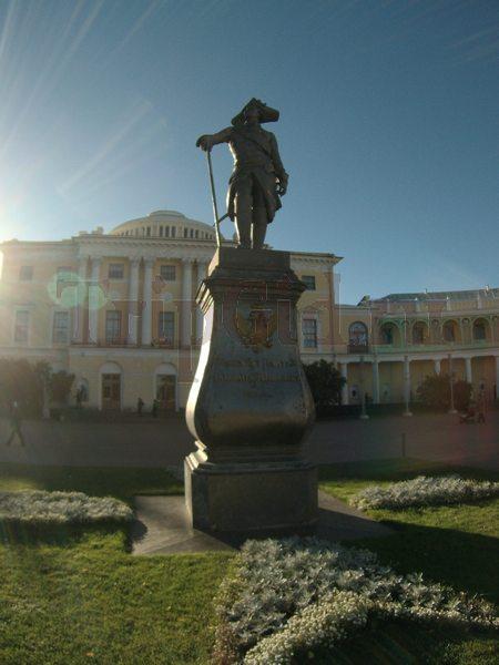 Памятник Павлу I, Павловский парк, Павловск