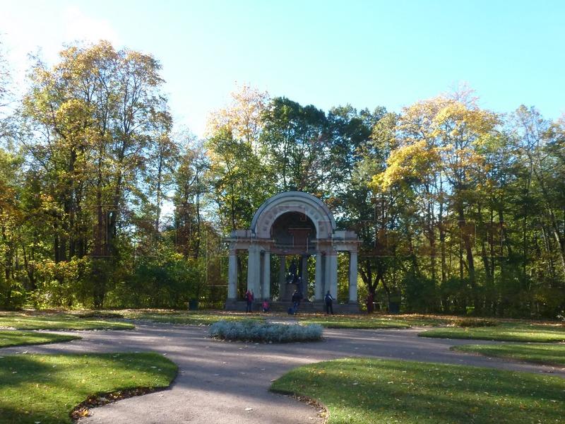 Павильон Росси, Павловский парк, Павловск