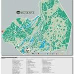 Карта парка, Павловский парк, Павловск