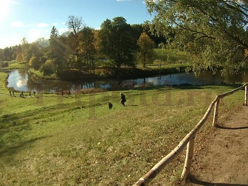 Река Славянка, Павловский парк, Павловск