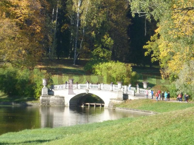 Висконтиев мост, Павловский парк, Павловск