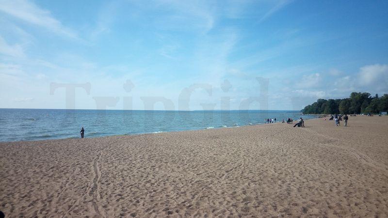 Золотой Пляж, Зеленогорский парк культуры и отдыха